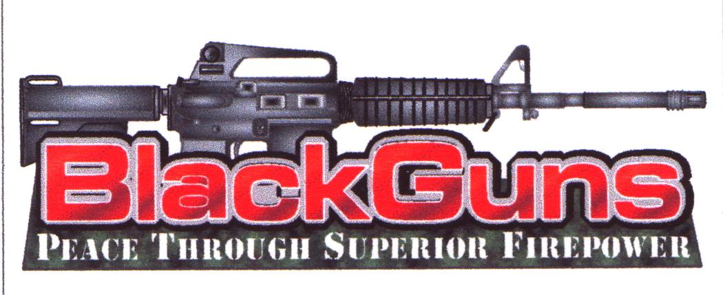 blackguns black guns bullets - photo #35